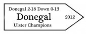 Donegal Ulster Champions