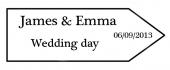 James and Emma Wedding Day