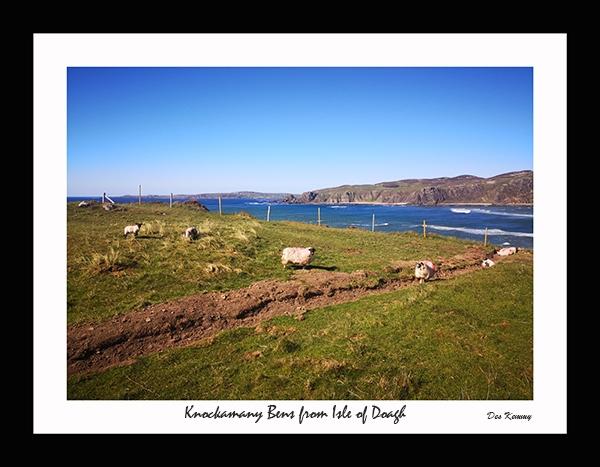 Knockamany Bens from Isle of Doagh