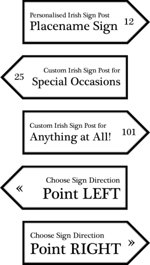 Examples of Irish Road Signs